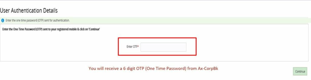 Corporation Bank Net Banking Activation For First Time Users, Reset Password, Forgot User Id