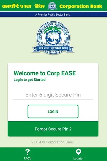 How To Register Corporation Bank Mobile Banking